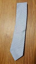 Calvin Klein     100% Silk Skinny Neck Tie, NEW!