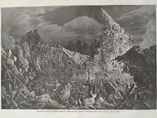 Peru Earthquake Plaza Of Arequipa South America 1868 Harper's Weekly Print