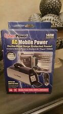 Cyber Power Ac Mobile Cupholder Adapter Cps140Chi Nib!