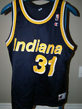 Vintage 90s Screened Champion REGGIE MILLER 31 INDIANA PACERS Jersey Original
