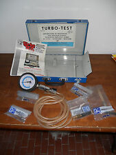 KIT PROFESSIONALE DIAGNOSI TURBINE TURBOTEST CON VACUOMETRO RACCORDI