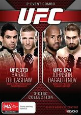 UFC #173 - Barao Vs Dillashaw / UFC #174 - Johnson Vs Bagautinov(DVD,2014,3-Disc