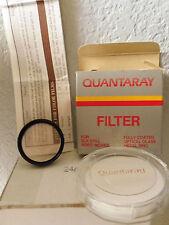Quantaray 37mm V-37 1A Skylight Filter +Case Box & Instructions