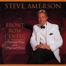 Front Row Center by Stephen Amerson (CD, 1998, Amerson Music Ministries)