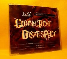 MAXI Single CD Tom Robinson Connecticut / Disrespect 4TR 1996 Pop Rock RARE !