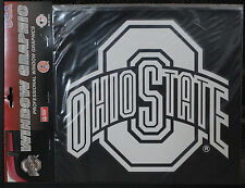 Ohio State Med White Decal Licensed NCAA Window Decal University Sticker White