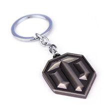 Fashion Wot Game World of Tanks Logo Keychain For Fan Cool Keyring Accessory