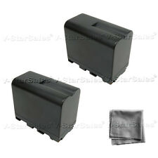 2X NP-F970 NPF970 Battery + BONUS for Sony CCD-TR940 TR930 TR910 TR67 TR818