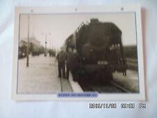 CARTE FICHE TRAIN LA SNCF : SON HISTOIRE (1)
