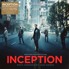 Hans Zimmer - Inception - Soundtrack - Clear Vinyl LP *NEW & SEALED*