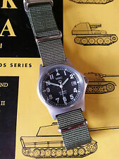MWC G10 LM Military Watch Olive, Date,  50m Water Resistance NEW BOXED