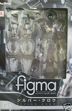 Used Max Factory figma Accel World Silver Crow PVC PAINTED