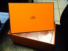 "HERMES GIFT BOX  EMPTY SIZE 6"" X 4"" X 9"" NEW 100 % ORIGINAL"