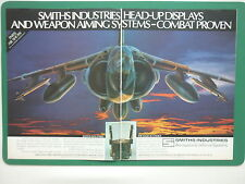 5/1985 PUB SMITHS INDUSTRIES HEAD-UP DISPLAYS WEAPON AIMING HARRIER AVIONIC AD