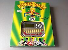 1995 Bandai Handheld Power Rangers Electronic diary game& watch MISB