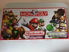 Nintendo Monopoly Collector's Edition board game - COMPLETE