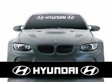 Reflective Car Front Windshield Banner Decal Vinyl Car Stickers for HYUNDAI