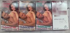 The Better Sex Video Series - 3 Volume Set - VHS Tapes  Plus Getting Creative