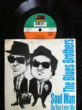 "The Blues Brothers - Soul Man / Do You Love Me 7"" Vinyl Pic Sleeve Atlantic 1980"