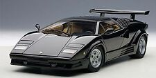 AUTOART LAMBORGHINI COUNTACH 25th ANNIVERSARY EDITION BLACK 1:18*New Item!
