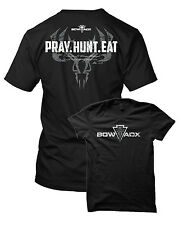 BOWADX- PRAY HUNT EAT Bowhunting T Shirt (Hoyt, Mathews, Bowtech, PSE)