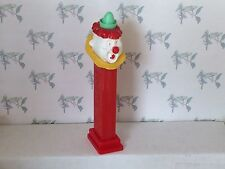 PEZ - Vintage Clown with Collar - Red 2.6 Austria - No Feet