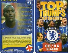 Top Trumps-Chelsea Football Club 05/06 stagione (classico gioco di carte)