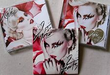 KYLIE MINOGUE * 2 HEARTS * UK PROMO & 2 CD SET w/ PRESS RELEASE * HTF! * X