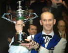 PAUL EBDON - GREAT SNOOKER PLAYER - SIGNED COLOUR CHAMPIONSHIP WINNING PHOTO
