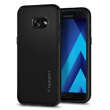 Samsung Galaxy A3 2017 Case, Spigen® (Liquid Air) Resilient Black case