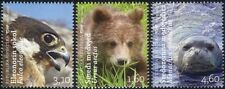 Croatia 2011 Bear/Falcon/Seal/Animals/Birds/Wildlife/Nature 3v set (n44706)