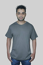 Mens 2, 5, 7& 10 lot Multi Pack Plain Basic Cotton Casual  Gym T- Shirt Top