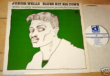 JUNIOR WELLS MUDDY WATERS ELMORE JAMES BLUES HIT BIG TOWN DELMARK USA 1977 LP