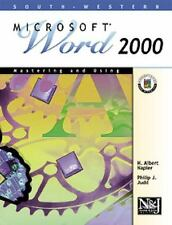 Mastering and Using Microsoft Word 2000 Comprehensive Course-ExLibrary