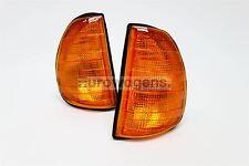 Mercedes-Benz W123 75-85 Orange Front Repeaters Indicators Pair Driver Passenger