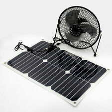 Solar Powered / Exhaust Fan / Solar Rechargeable Battery 6inch