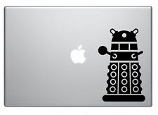 Doctor Who Dalek Sticker for Car or Computers, Mac Air Sticker, Black