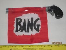 Bang Gun For Clowns & Magician's - Small Metal Bang Gun - Gag, Joke, Funny Prop