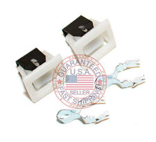 2 PACK NEW 279570 DRYER DOOR LATCH KIT FOR AMANA WHIRLPOOL MAYTAG KENMORE