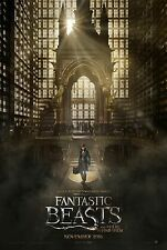 Fantastic Beasts and Where to Find Them - A3 Film Poster - FREE UK DELIVERY