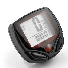 New LCD Cycle Computer Odometer Speedometer Waterproof For Cycling Bike Bicycle