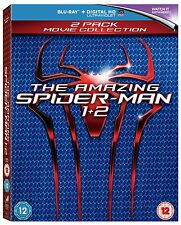 The Amazing Spider-Man 1-2 [Blu-ray] New & Sealed UK FREE P&P