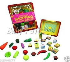 Play Food & Shopping Basket Toys Let's Play Shopping Playfood