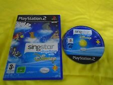 ps2 *SINGSTAR SINGALONG WITH DISNEY* PAL