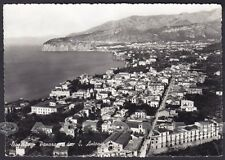 NAPOLI SORRENTO 20 SANT'ANTONIO Cartolina FOTOGRAFICA viaggiata 1952