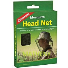 Coghlans Mosquito Head Net  ~ Bug Repellant Headnet Netting ~ Coghlan