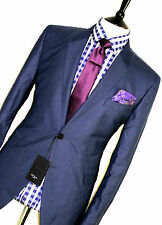 BNWT MENS PAUL SMITH THE KENSINGTON LONDON NAVY BLUE TAILOR-MADE SUIT 44R W38