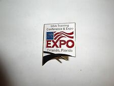 MILITARY HAT PIN INSIGNIA GSA TRAINING CONFERENCE & EXPO ORLANDO FLORIDA 2010