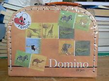 NUOVO Egmont Toys domino jungle in pratica valigetta di cartone 570105