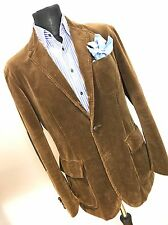 Ralph Lauren mens corduroy half Norfolk jacket, sz 42R, simply outstanding